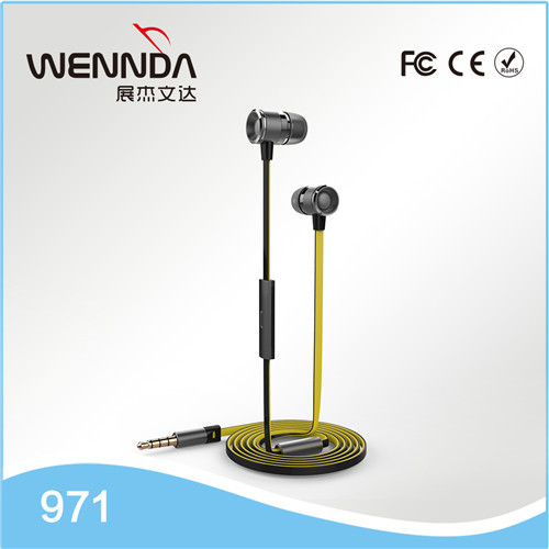 Stereo Earphone For iPhone headphone with Mic Cheap Earphones