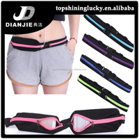 New Arrivals Waterproof fanny packs Sport Gym Waist Bag Sport elastic waist bag