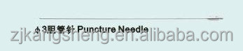 hot sale minor surgical instruments/surgical set/puncture needle