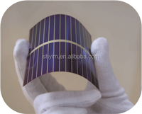 Flexible Thin Film Solar Cell 33mm*98mm Amorphous Silicon Solar Cell