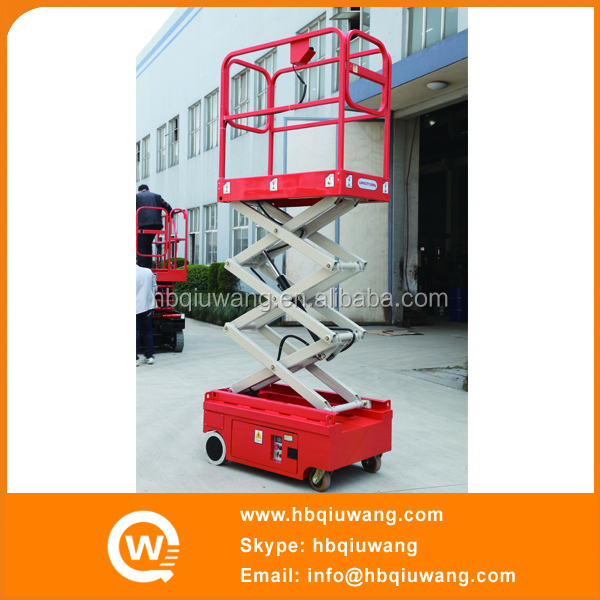 Mini Self-propelled Motorized Scissor Lift
