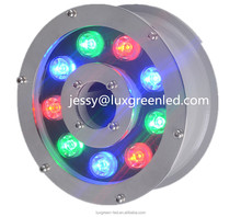 IP68 Waterproof RGB Led Ring Underwater Fountain Light