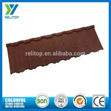 Sand Chip Coated Types Of Roof Tiles for Townhouse