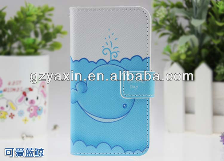 For lenovo a390 Flip leather mobile phone case,for lenovo a390 phone case