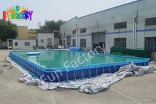 Easy Removable/portable metal frame swimming pool for sale