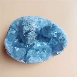 blue color random size celestite for sale