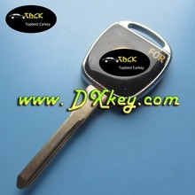 Remote key cover case for crystal key blank with logo