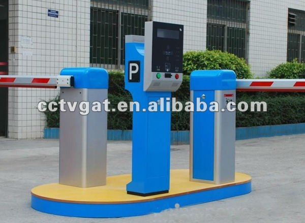 RFID automated motorised boom gate for parking barrier retractable