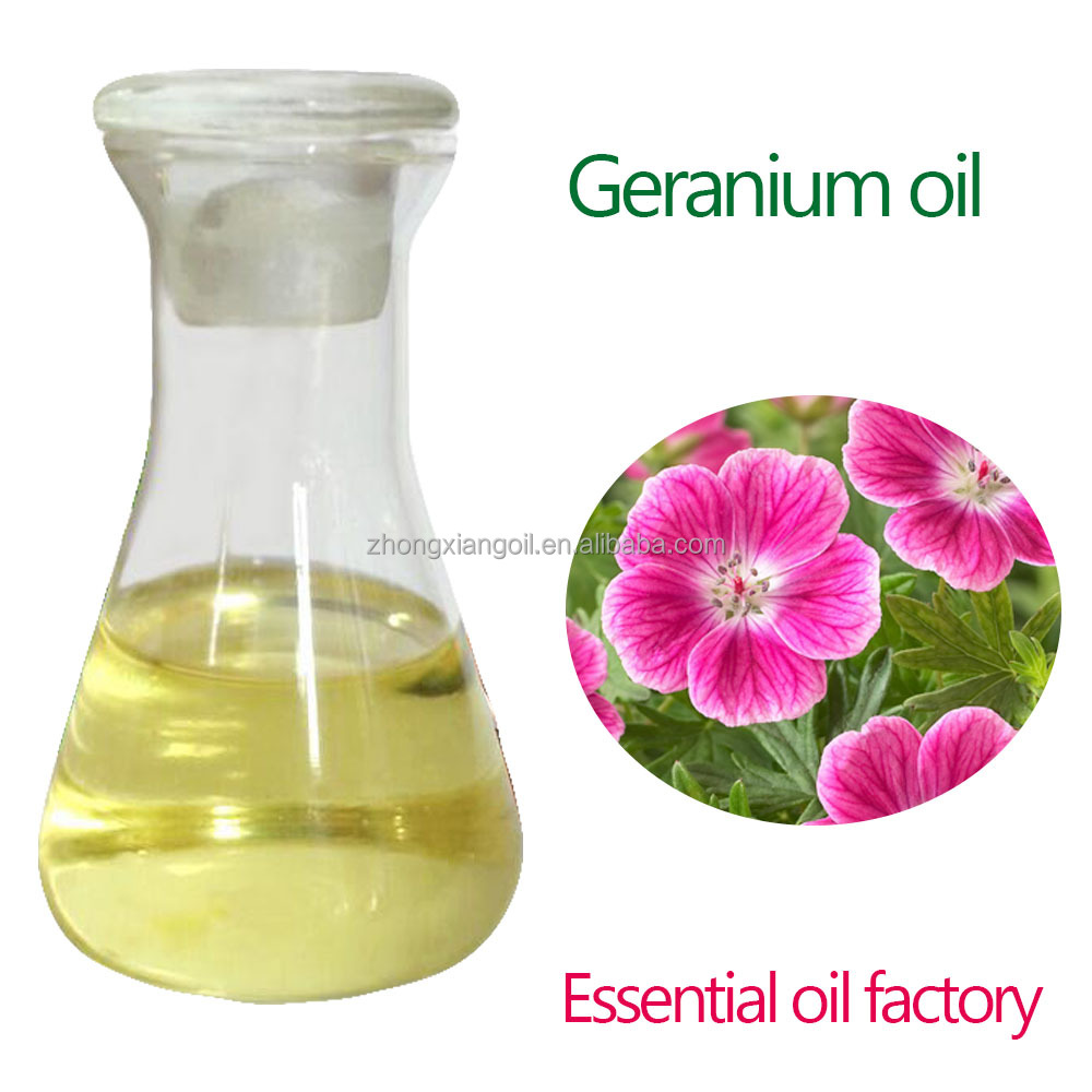 Essence Perfume Cosmetic Daily Fragrance And Flavor Geranium Oil
