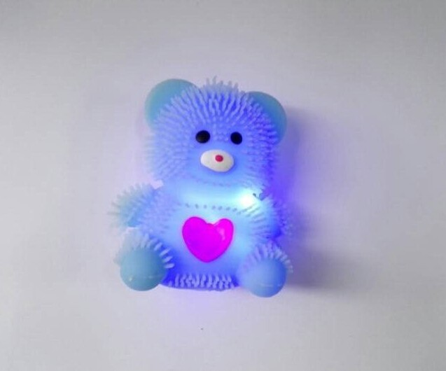 Squishy Worm Ball : Bear Shaped Light Up Animal Puffer Ball - Buy Spiky Worm Puffer Ball,Sticky Animal Splat Balls ...