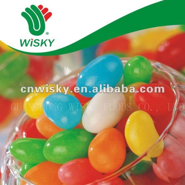 Assorted Flavor And Color Bulk Jelly Bean Candied Fruit