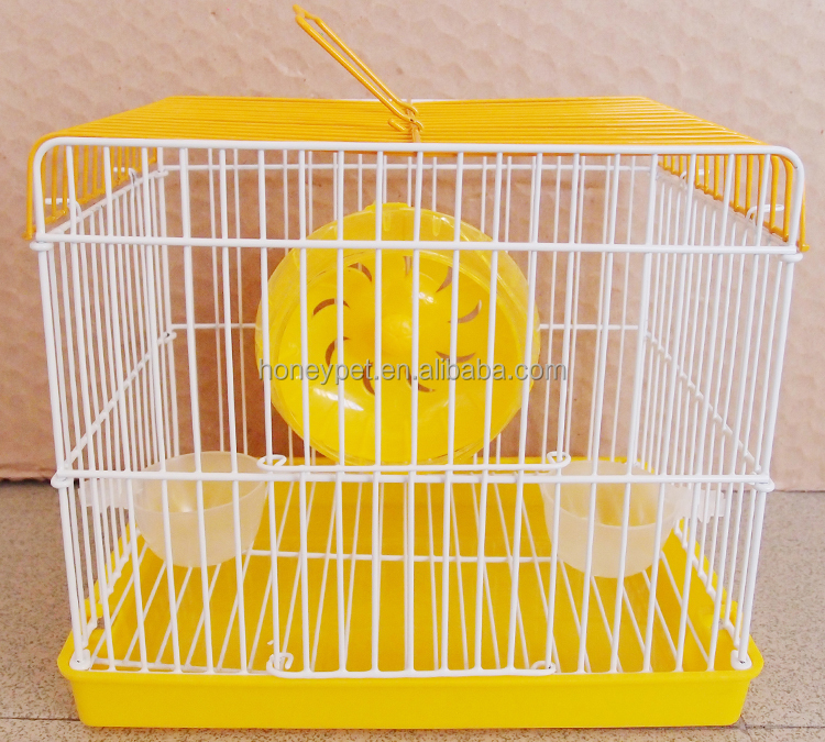 Good quality metal wire mesh Luxury acrylic cage hamster