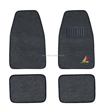 China factory 4pcs novelty clear plastic car floor mats