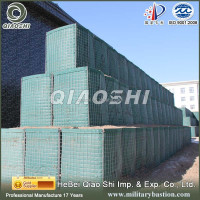 metal fence panel weld wire mesh box hesco
