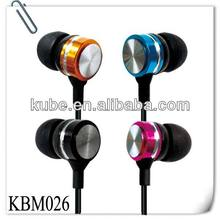 Newest style in-ear headphone,noice cancelling heaphone