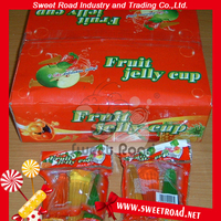 Sweet Road Assorted Mini Fruit Jelly Cube Vaseline jelly In Display Boxes