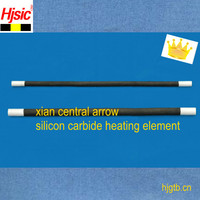 Double hot zone Silicon Carbide Heating Element for high temperature furnace