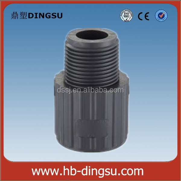 Factory/Low price ASTM Schedule 80 PVC Pipe fittings male adapter