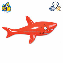 Custom swimming pool toys ocean animal inflatable red shark