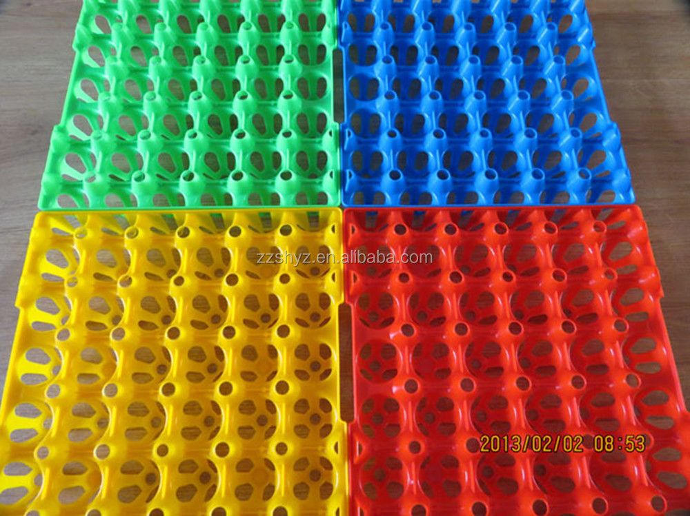 New Design Plastic chicken quail Egg Tray Colorful Egg Trays for sale Colorful egg tray