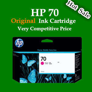 For HP Z2100 / Z3100 / Z3200/ 5200 Original ink cartridge ( HP70 ink cartridge)