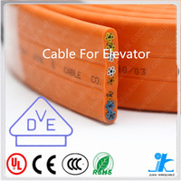 Flexible PVC Flat/Round Elevator Cable home passenger elevator motorcycle lift used