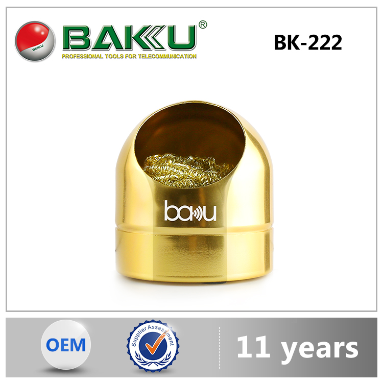 2015 BAKU new product aluminum profile innocuity cleaning ball solder tip
