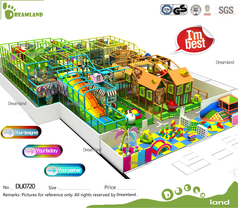 2016 Newest commercial children indoor playground equipment prices