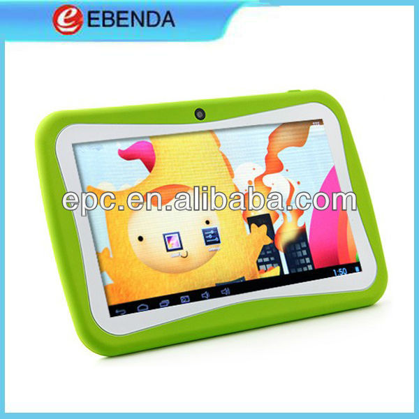 Colorful Tablet colorful Childhood 7 inch TabletPC Android 4.1 OS Kids Tablet for Educational