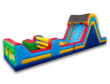 Obstacle Course Equipment Cheap Inflatable Gaint Adult Obstacle Course