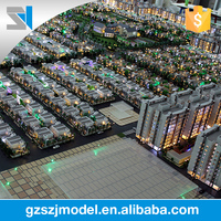 Skillful manufacturing Hindustan apartment 3d scale model