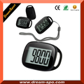 Simple Walking 3D Pedometer with Lanyard Step Movement Calorie Counter Multi-Function Digital Walk Meter