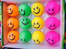 Light up smile face ball toys for Children
