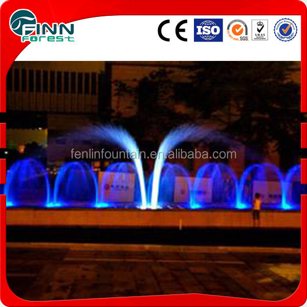 large outdoor handmade water fountain