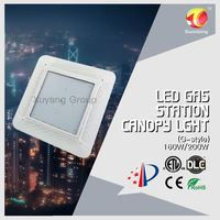 cETL ETL DLC Listed Zigbee Dimming Meanwell Driver 80w 100w 120w 150w canopy parking led hanging fixture