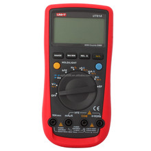 AC DC Volt Amp Ohm Frequency Capacitance Tester UNI-T UT61A LCD Display Handheld Digital Multimeter
