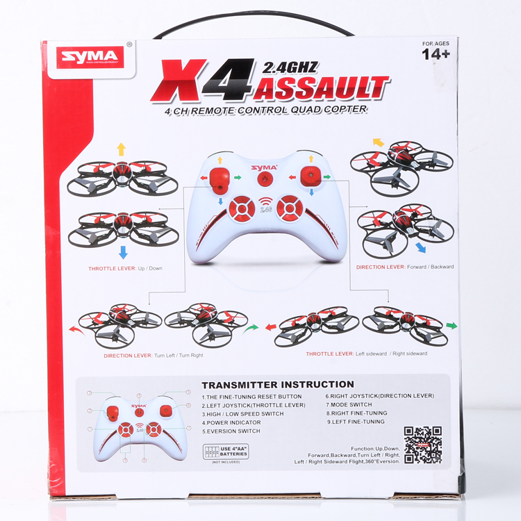 New Products Syma Phantom 4 Rc Drone Professional With 4K Camera Fpv Gps Rtf Quadcopter