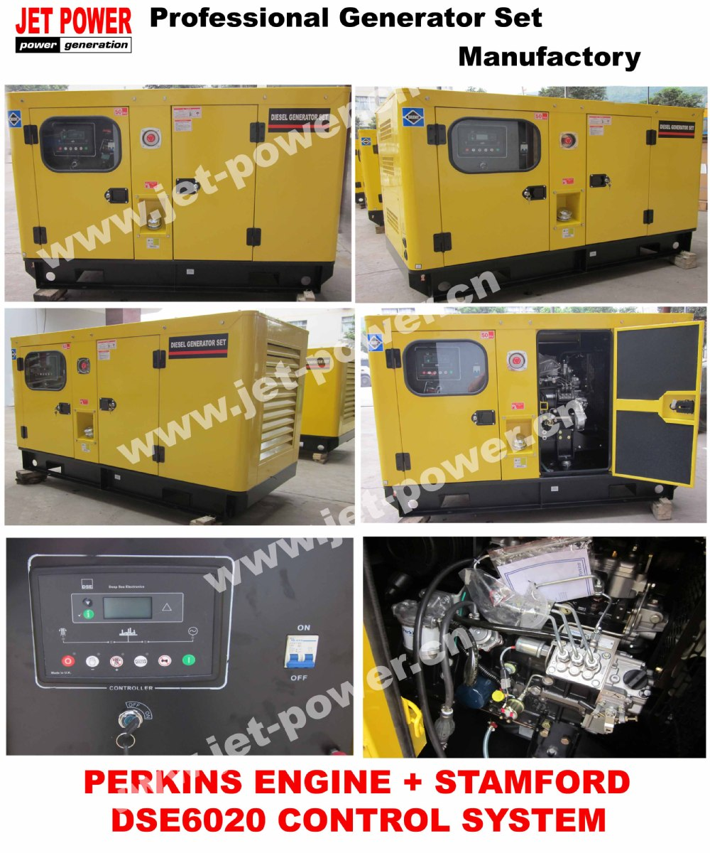 UK 45KVA Diesel Generator Set With Engine 1103A-33TG1