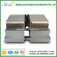 Metal modular bellows expansion joint for building