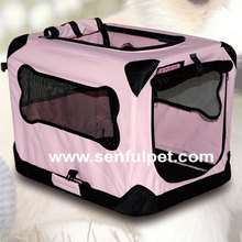 Durable Nylon Fabric Pet Portable Crate