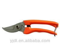 "7"" PVC handle garden used pruning shears"