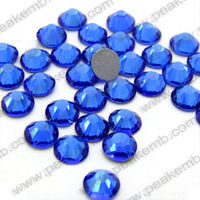 DMC Rhinestones Hot Fix SS10 Cobalt Full Colors Different Sizes