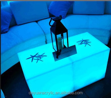 acrylic led cocktail bar table/color LED bar table