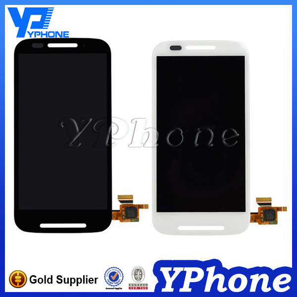 New product touch screen lcd assembly for moto e xt 1022 xt1023 xt1025, display for motorola xt 1025 lcd with digitizer