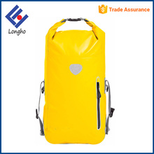 New arrivals buckle closure & D ring durable ocean pack custom logo waterproof dry bag backpack with waist belt