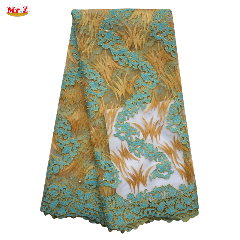 nigerian aso obi french lace fabric