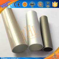 Hot! FOB guangzhou aluminum pipe mill co ltd cnc machined tube, OEM Nethernland cnc machined t6 aluminum
