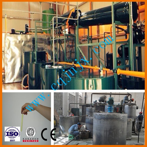 Base oil refinery from used car/truck/ship engine oil ! ZSA-30 China oil processing