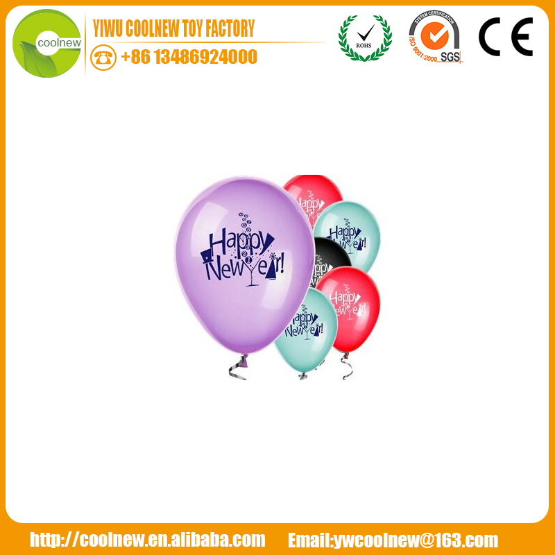 standard balloons Christmas and happy new year the best products decoration