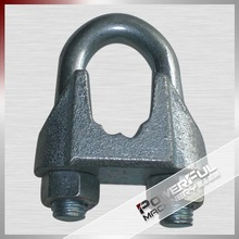 DIN741 steel wire rope clamp and rigging hardware accessories